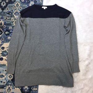 Liz Lange Maternity Color Block Sweater